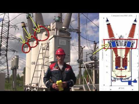 Энергетика. ПС 110/10. Мегаомметр Е6-40: Практика применения.