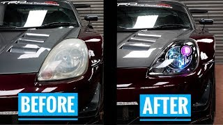 Making headlights awesome