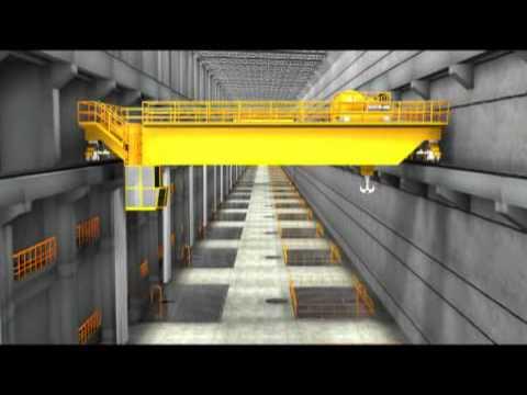 Usina Hidrelétrica de Santo Antônio em 3D - Porto Velho/RO