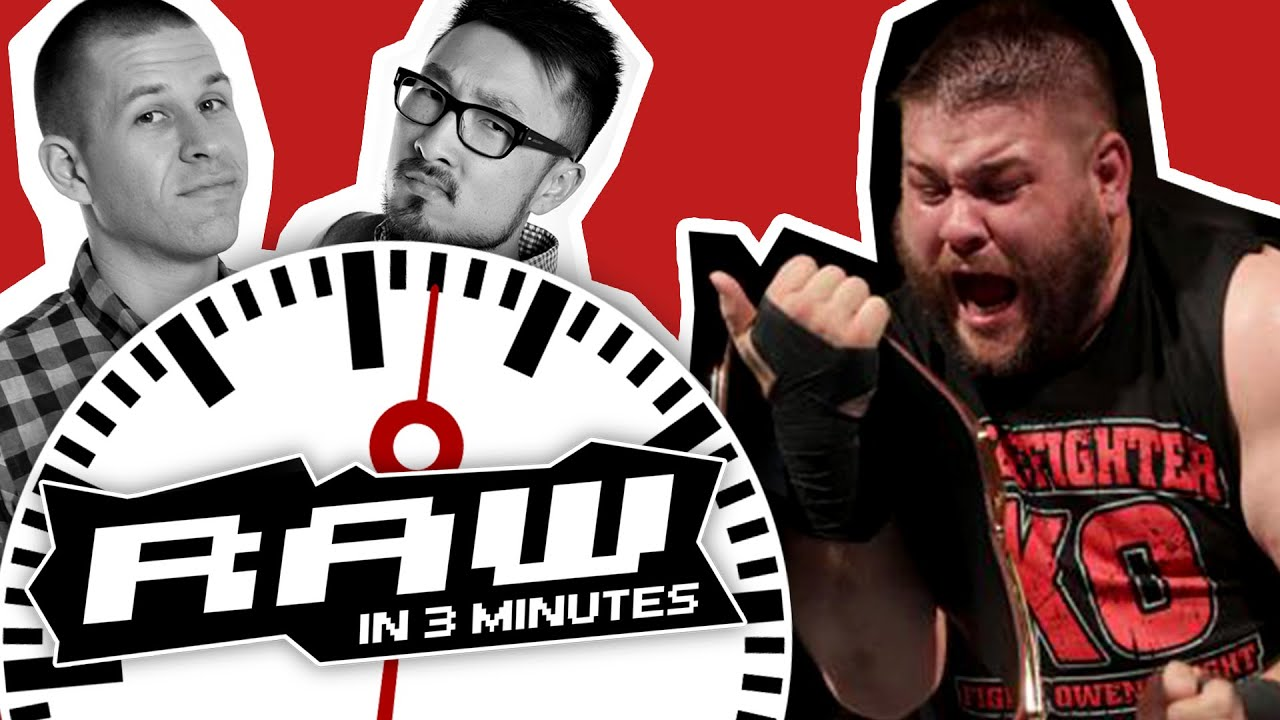 Download Kevin Owens Wins Universal Title; Triple H Returns | WWE RAW in 3 MINUTES 8/29/16