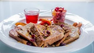 How to Bake a Cranberry Maple French Toast : French Toast Recipes