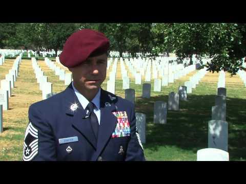 Air Force Pararescue Memorial Ceremony for TSgt Michael Flores