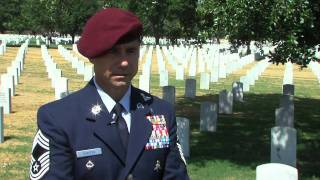 Air Force Pararescue Memorial Ceremony for TSgt Michael Flores