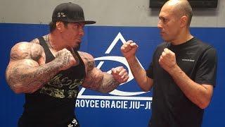 ROYCE GRACIE INTERVIEW - UPCOMING FIGHT FEB 19TH - KEN SHAMROCK  - LEGEND