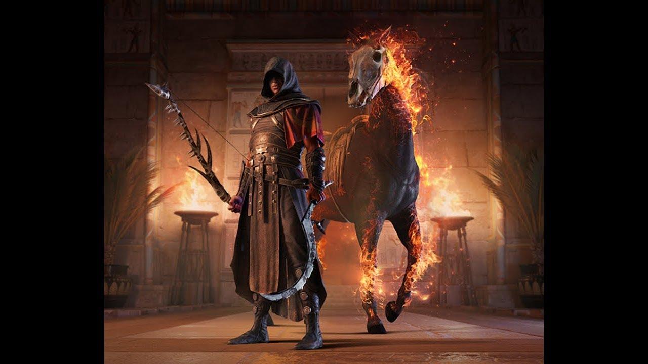 Assassin's Creed Origins Pacote Pesadelo, morte Crocodilo ...