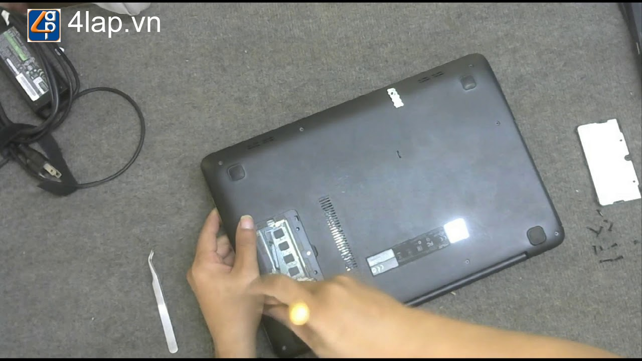 Asus K455l Disassembly and fan cleaning