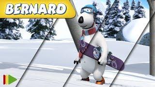 Bernard Bear | Zusammenstellung von Folgen | Snowboarden