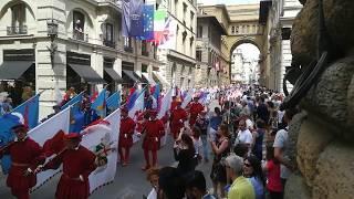 Sfilata del corteo storico - Calcio Fiorentino