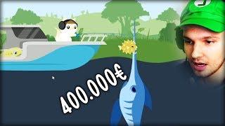DER SCHWERTFISCH IST 400.000€ WERT... !! JETZT KAUF ICH MIR ALLES !!   Cat Goes Fishing (Part 6)