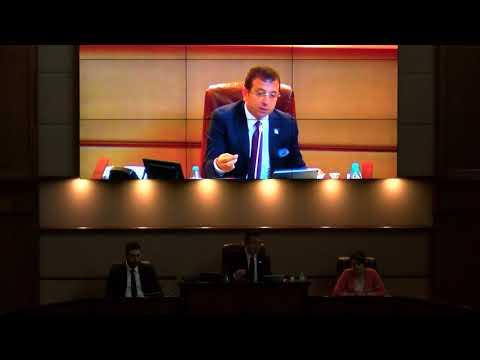 İBB Meclis Toplantısında Tartışma Çıktı! Ekrem İmamoğlu ve Tevfik Göksu Arasında