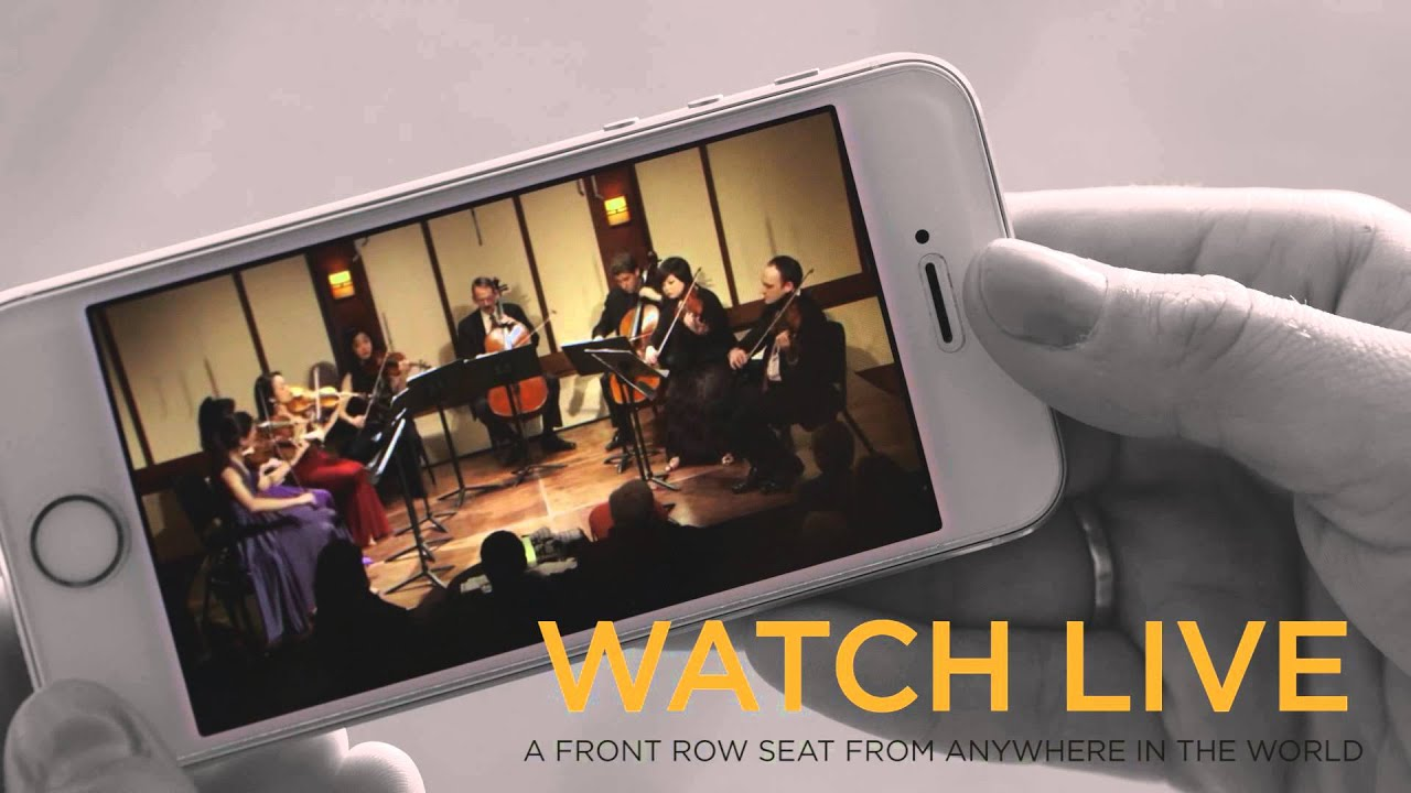 Chamber Music Webcasts