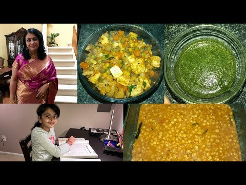 Tuesday Vlog  : Indian Mom Daily Routine With Veg Lunch Preparation | Indian(NRI) Housewife's Life