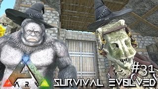 ARK: Survival Evolved - WITCH HAT & SKELETON DINO SKINS !!! [Ep 31] (Server Gameplay)