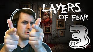 MY FIRST LEGIT SCREAM!!! | Layers Of Fear (Part 3)