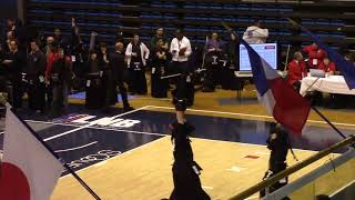 Kendo Open de France 2018 123e Dan women Tominaga Shiori JAPAN vs Stachowicz Monika POLAND