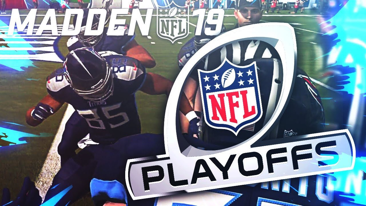 MADDEN NFL 19 OFFICIAL PLAYOFF GAMEPLAY