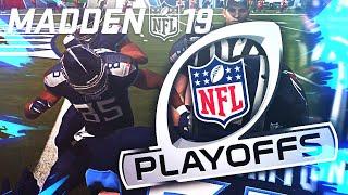 NFL Playoff THRILLER! Madden NFL 19 Franchise Series