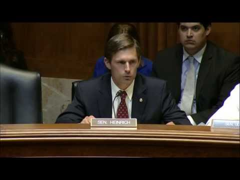 Heinrich Opening Statement During Subcommittee Hearing On Water Management