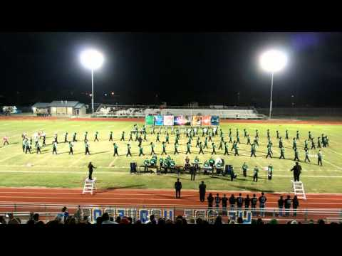 Falfurrias High School Band's performance in San D