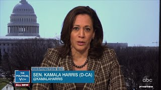 Sen. Kamala Harris on COVID-19's Disproportionate Impact on African-American Community | The View