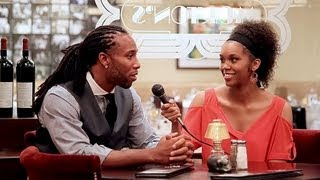Larry Fitzgerald Media Day at Morton's *EXCLUSIVE INTERVIEW*