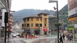 видео Andorra La Vella. Горнолыжный курорт Андорра Ла Велла