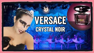 Versace Crystal Noir edición HALLOWEN Colaborativo