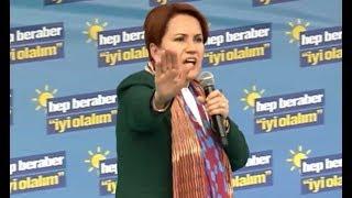 Meral Akşener, Cumhurbaşkanı Erdoğan'a Trabzon'da cevap verdi. 12 Mart 2019