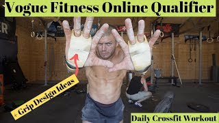 VOGUE Fitness Online Qualifier Daily Crossfit Workout