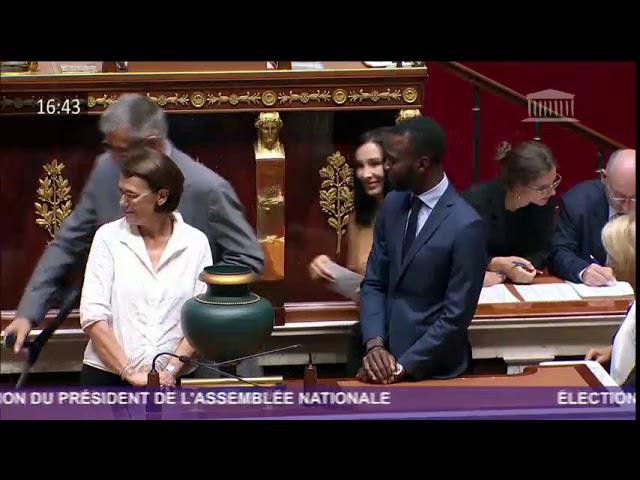 Vote pour la Présidence de l'Assemblée Nationale