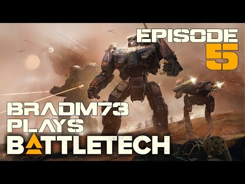 Let's Play BATTLETECH - Episode 5 - Depot Capture & Standard Patrol!!