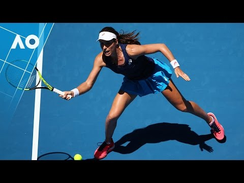 Osaka v Konta match highlights (2R) | Australian Open 2017