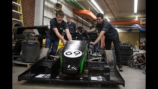 See the car designed by the U of S Huskie Formula Racing team