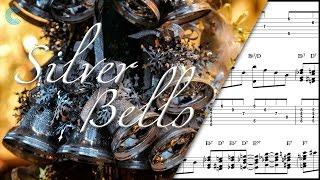 Violin  - Silver Bells - Christmas Carol - Sheet Music, Chords, & Vocals