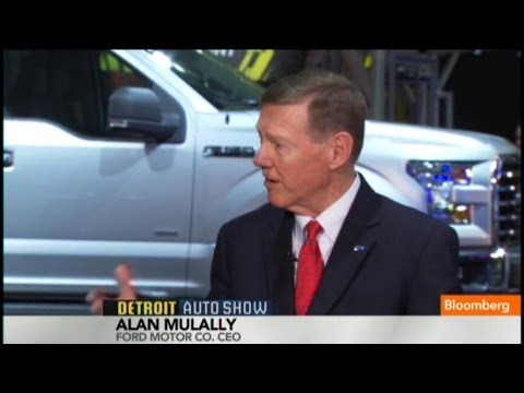 Ford's Mulally: Aluminum `Next Material' for Autos