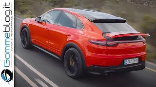 2020 Porsche Cayenne Turbo Coupe - interior Exterior and Drive