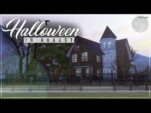 Halloween in August