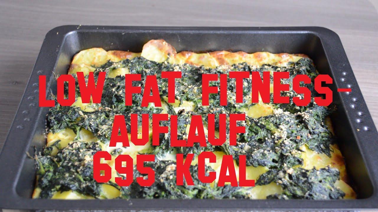 Diat Bulk Low Fat Fitness Auflauf Rezept 695 Kcal Youtube