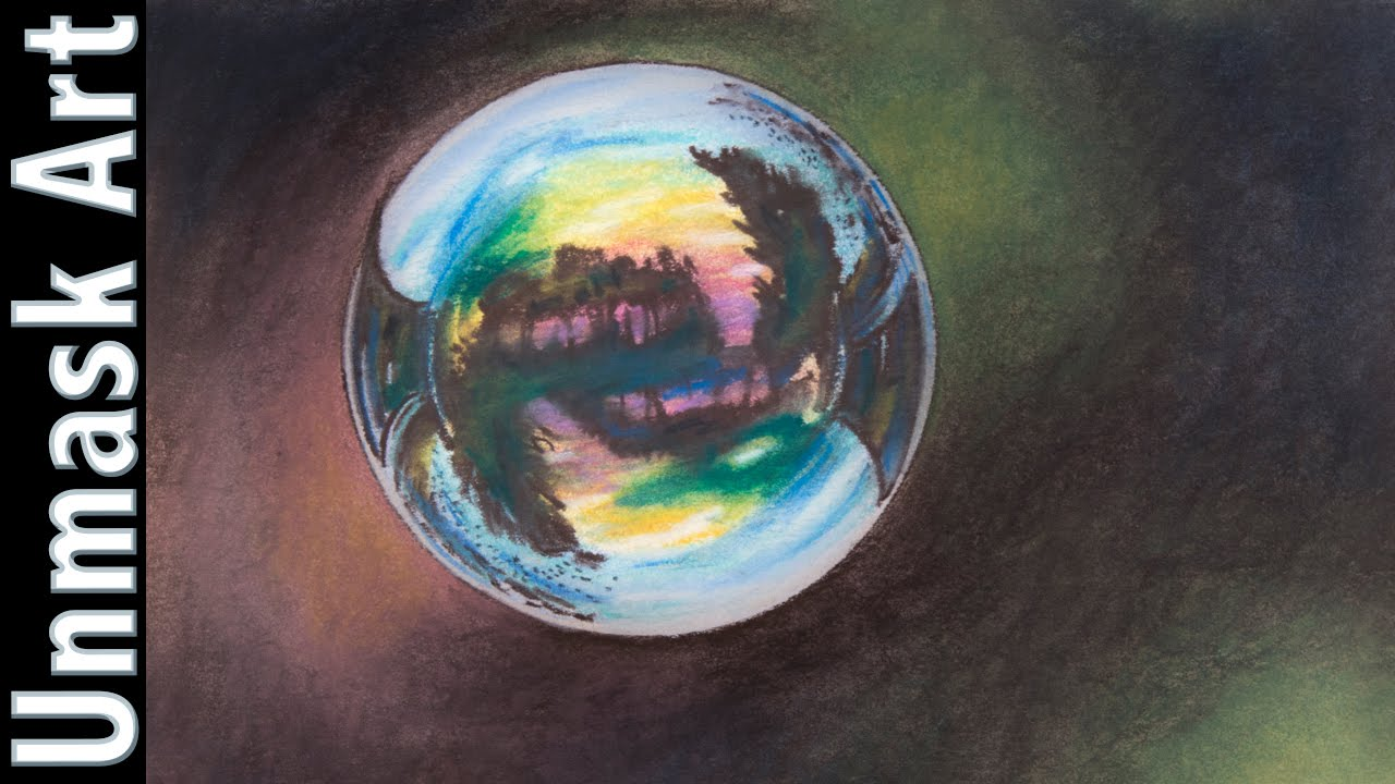 Bubble Colored Pencil Drawing Time Lapse