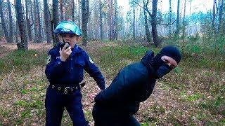 - ПОЛИЦЕЙСКИЙ против БАНДИТА в Лесу Даник и Игровой набор Полиции для Детей. Police Toys for Kids