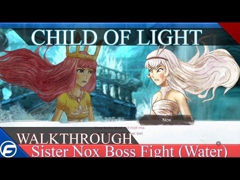 Child of Light Walkthrough Part 17 Sister Boss Fight