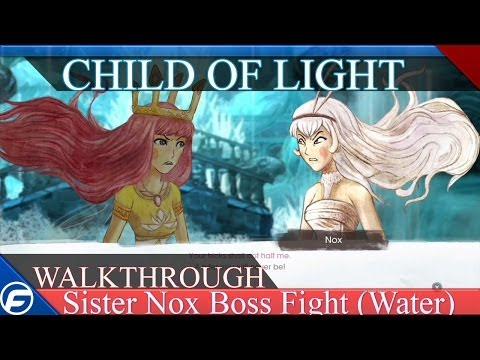 Child of Light Walkthrough Part 17 Sister Boss Fight
