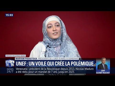 """""""Mon voile n'a aucune fonction politique"""", répond la présidente de l'Unef qui a créé la polémique"""