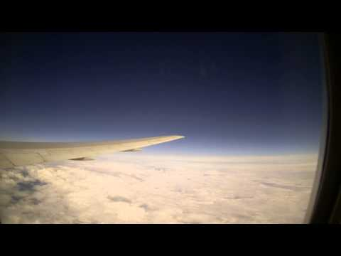 time lapse of flight from Minneapolis, MN to Los Angeles, CA (May 20th, 2015)