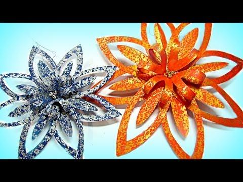 DIY Christmas crafts: Paper ornaments.