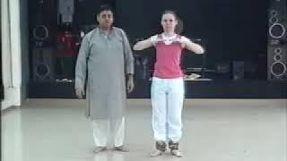 Kathak lesson - learn Basic Kathak movements Part 1