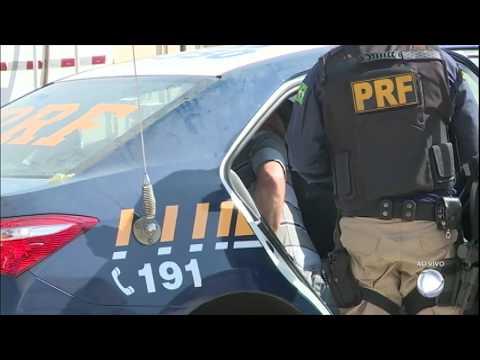 Homem é preso ao tentar contrabandear carga de cigarros