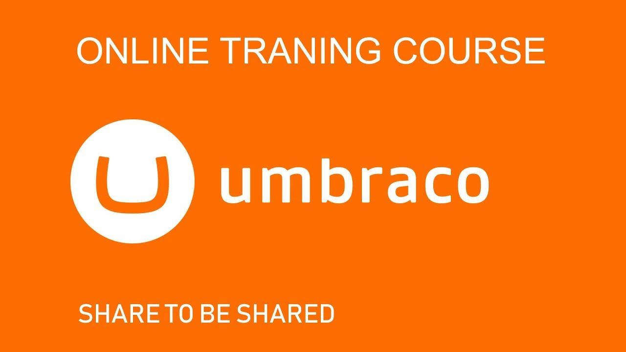 Index v7, tutorials our umbraco.