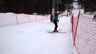 Горные лыжи обучение