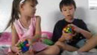 1 of 4 rubik s cube how to solve for kids by kids